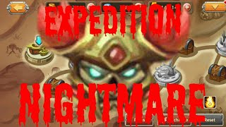 HEROES LEGEND - [DOT ARENA RETURN] COMPLETE EXPEDITION NIGHTMATE