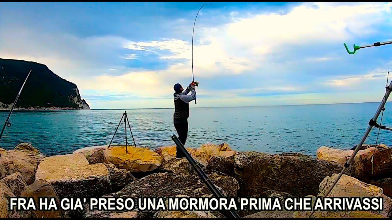 PRIMA Pescata a Surf Casting del 2020! Catture MULTIPLE con Esca Arenicola [Multi-Species Fishing]