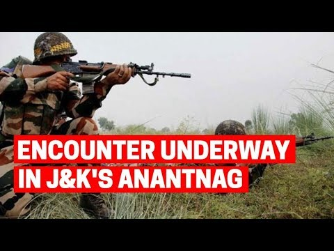 Encounter underway between security forces, terrorists in J&K's Anantnag