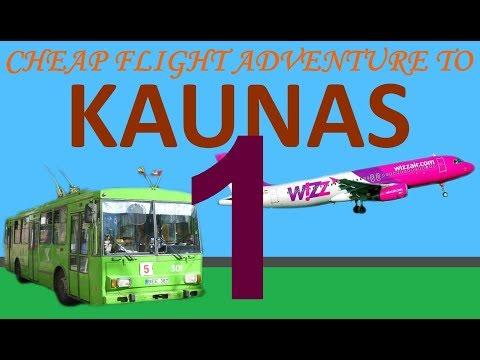 Cheap flight adventure to Kaunus Lithuania (part 1)