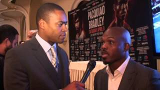 Timothy Bradley ADMITS He Didn't Win First Fight vs Manny Pacquiao!