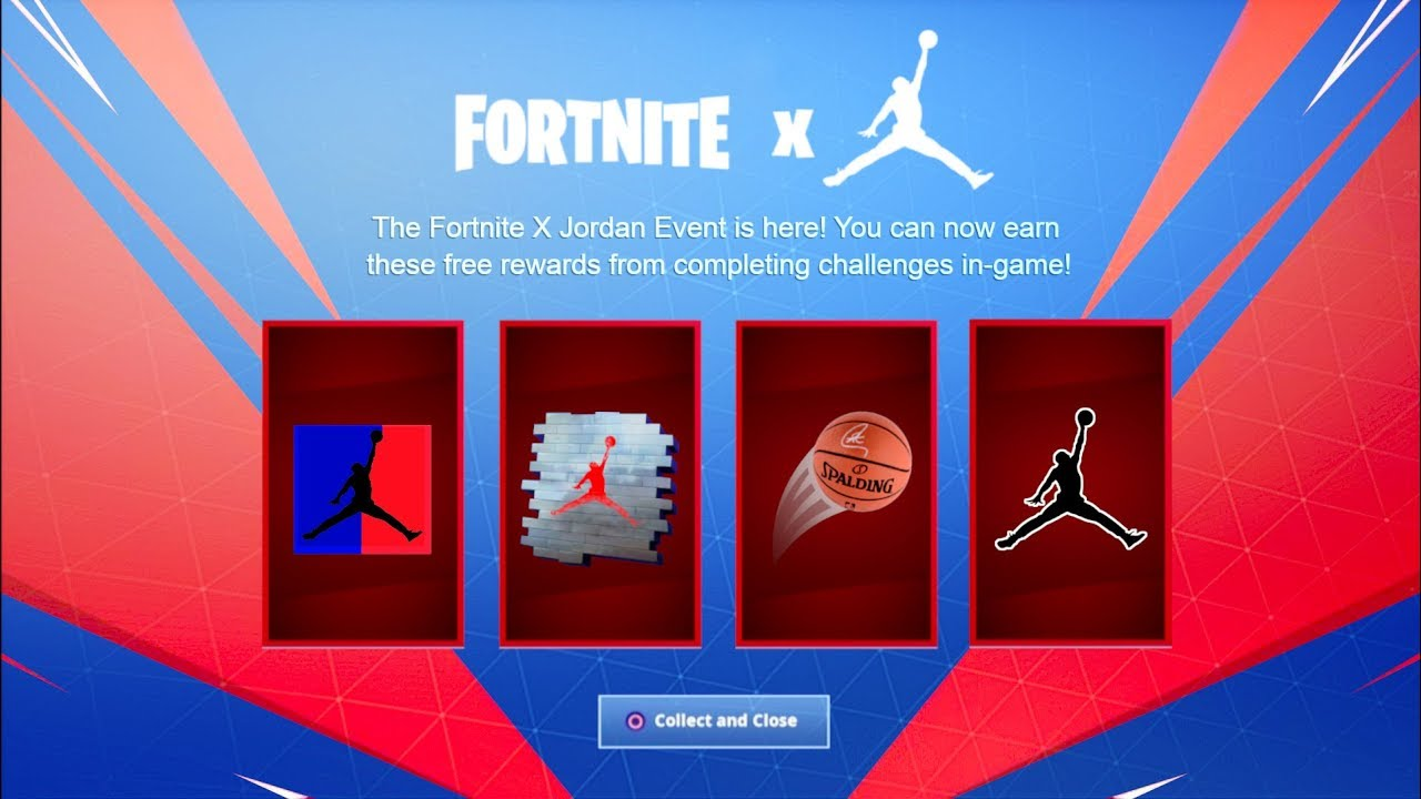 Empleado El uno al otro No lo hagas  FORTNITE X JORDAN EVENT LEAKED! NEW MICHAEL JORDAN LTM REWARDS/ CHALLENGES!  NEW FORTNITE X NIKE LTM! - YouTube