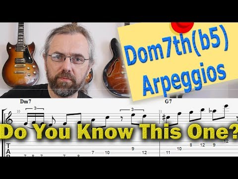 5 Great Jazz Licks You Need to Know  With This Awesome Dominant 7th arpeggio - Guitar Lesson