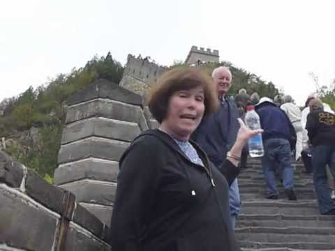 Traveling to the Great Wall of China