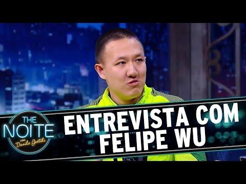 The Noite (17/08/16) - Entrevista com Felipe Wu