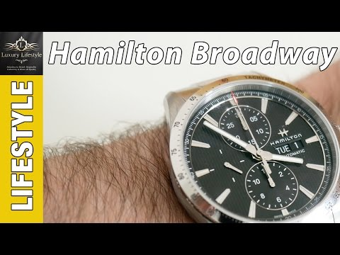 Hamilton Broadway Automatic Chronograph Review H43516131