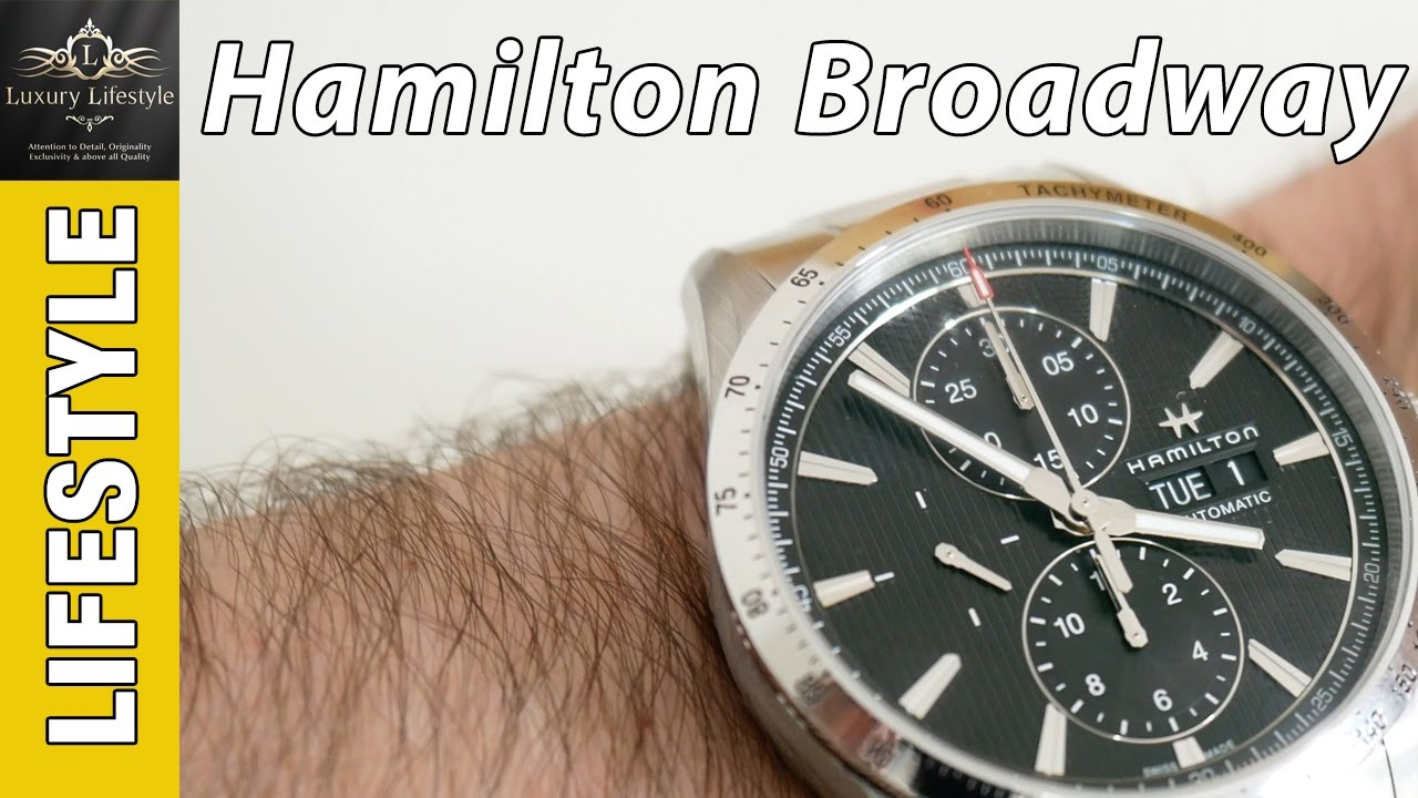 e77300aae Hamilton Broadway Automatic Chronograph Review H43516131 - YouTube