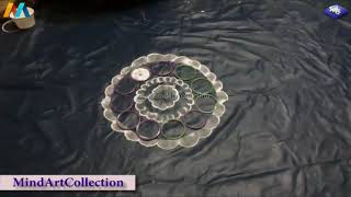 Innovative Creative Easy Rangoli Design 2