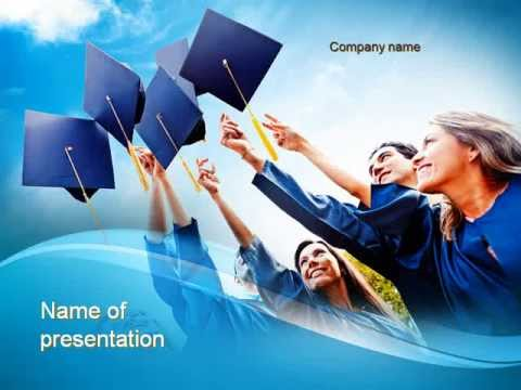 graduation ceremony powerpoint template, Templates