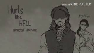 Hurts Like Hell || Hamilton || Animatic || REUPLOUD FROM CAW-CHAN