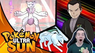 OH GOD GIOVANNI HAS MEGA MEWTWO! Pokemon Ultra Sun Let's Play Walkthrough Episode 58