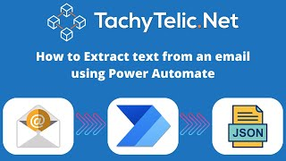 Parsing Text from email with Microsoft Power Automate