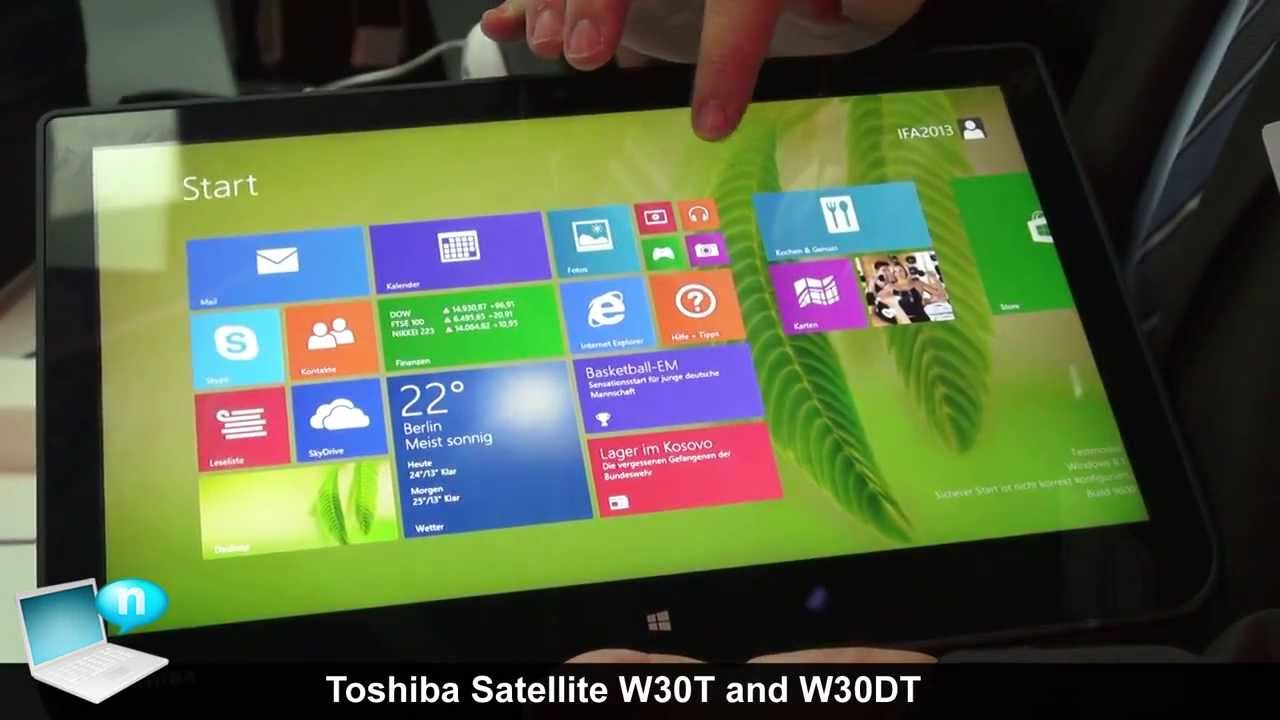 Toshiba Satellite W30T-A System Drivers Windows