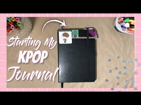 🌱 Starting My Kpop Journal Flip Through | sugabey