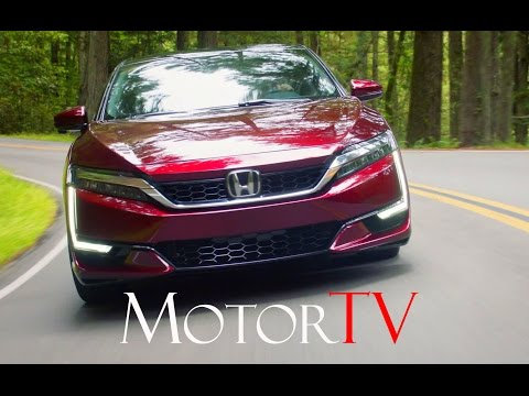 NEW 2017 HONDA CLARITY FCV l First Drive