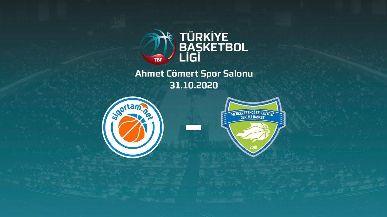 Sigortam.Net – Merkezefendi Belediyesi Denizli Basket TBL 3.Hafta