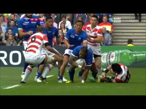Japan vs Samoa RWC2015 Full game