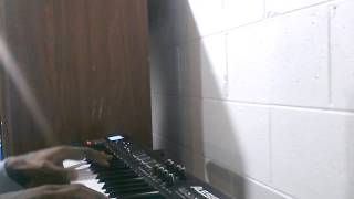 Qlo on the piano (India Arie The Truth) Cover