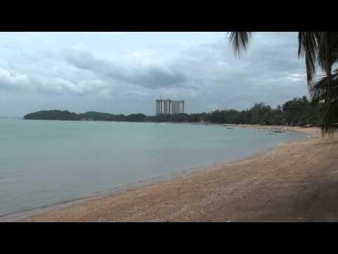Port Dickson Beach in Malaysia