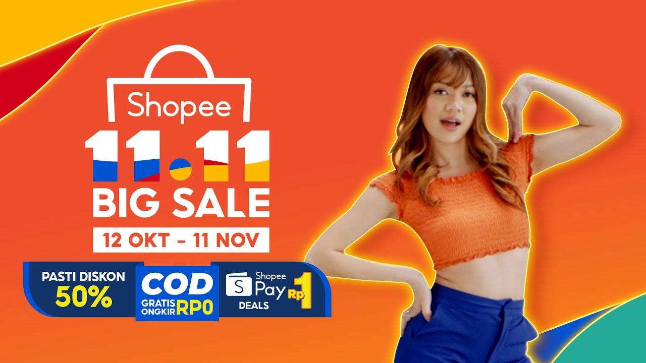 Shopee 11.11 BIG SALE | COD Gratis Ongkir Rp0, Pasti Diskon 50% & ShopeePay Deals Rp1!