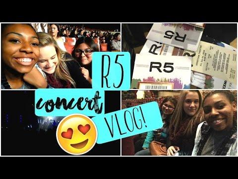 R5 CONCERT VLOG! || LIVE FOOTAGE! || SOMETIME LAST NIGHT // maiahloves