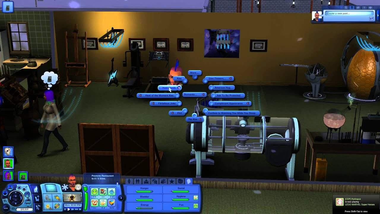 The sims 3 sex scene