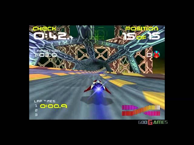 Wipeout 64 - Gameplay Nintendo 64 HD 720P