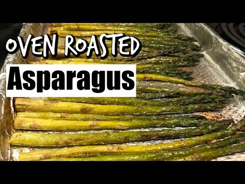 How To Make Oven Roasted Asparagus// The Velvet Spoon