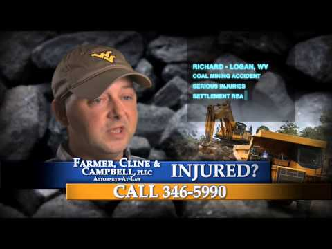 Coal Mining Accident Victim Hired Farmer, Cline & Cambell
