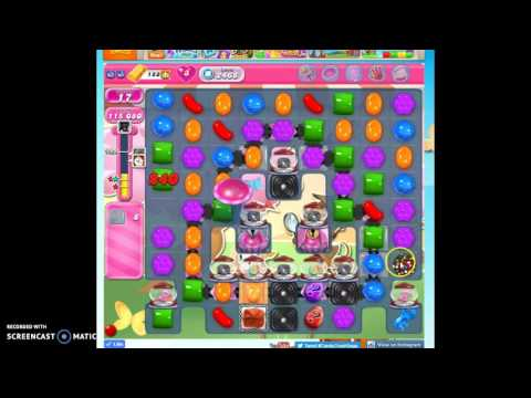 Candy Crush Level 2468 help w/audio tips, hints, tricks