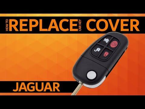 Jaguar – How to replace car key cover