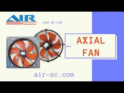 Axial Fan Construction, Air SC Company. Ventilation Equipment Production.