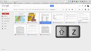 Staying Organized in Google Drive