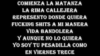Letra de A mi me nace  - Rapper School ft Rapsodia