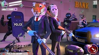 Bank Robbery Crime LA Police Walkthrough Part 2 / Android Gameplay HD