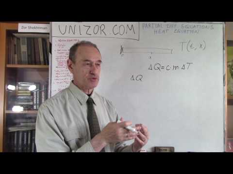 Unizor - Partial Differential Equations - Heat Equation