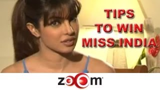 Priyanka's tips to win Miss India