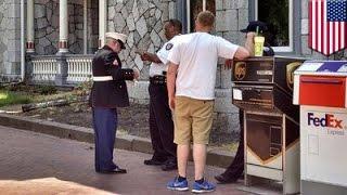 Stolen valor fail: jerk Army officer, cop accuse veteran of pretending to be an ex-Marine - TomoNews