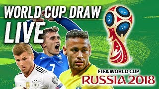 Live World Cup Draw - Find Out Who plays Who @ Russia 2018