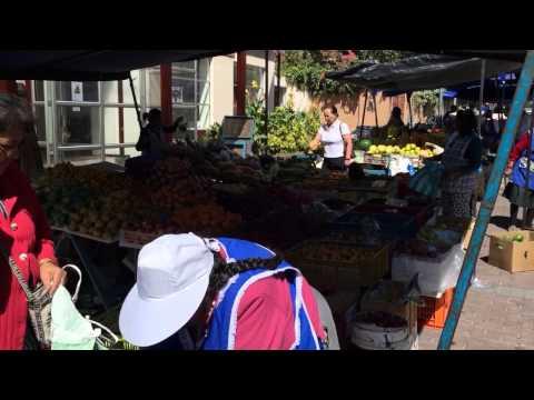 Friday market behind Swissotel, Quito Ecuador