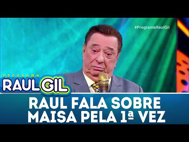 Pela primeira vez, Raul Gil fala sobre polêmica com Maisa | Programa Raul Gil (01/12/18)