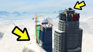 GTA 5 - The BIGGEST Snowstorm EVER!!