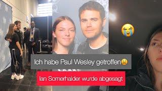 Vlog Comic Con Dortmund 2019 | Ich habe Paul Wesley getroffen 😩❤️