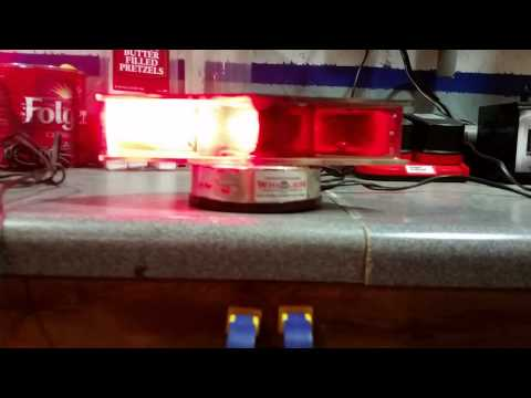 Whelen Responder Dash Lights 80s Vintage