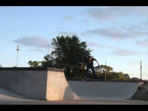 Kenny Skateboarding In Navasota