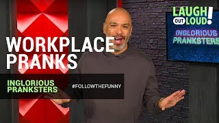 Kevin Hart Approved | Workplace Pranks | Inglorious Pranksters | LOL Network