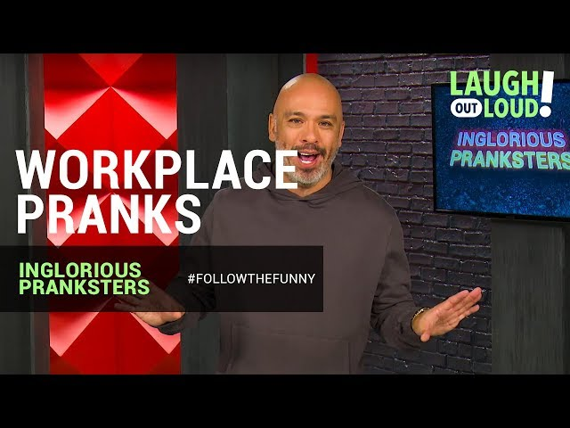 Kevin Hart Approved   Workplace Pranks   Inglorious Pranksters   LOL Network