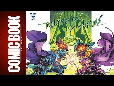 Transformers Vs Visionaries #5 | COMIC BOOK UNIVERSITY