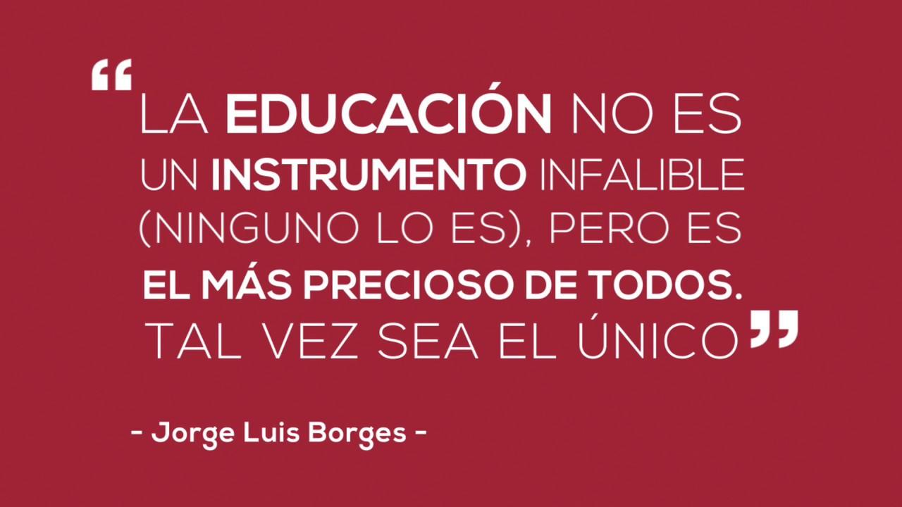 Frase Jorge Luis Borges Youtube