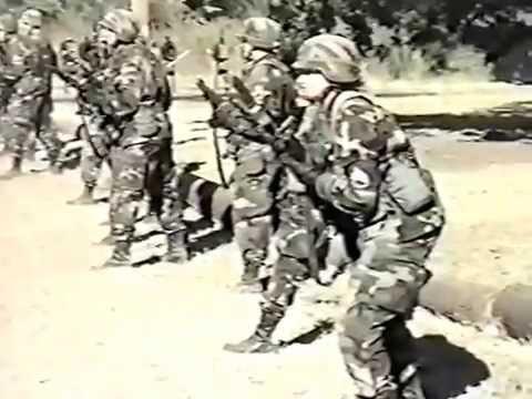 Fort Sill Oklahoma Graduation Nov 18th, 1999 Part 1
